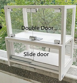 Showcase and Cabinet-Double Door & Slide Door