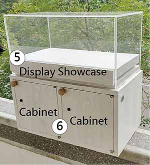 Showcase and Cabinet-Display Showcase&Cabinet